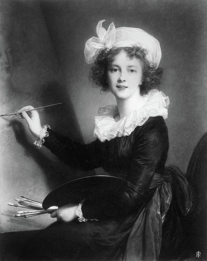 1790 Painting - Marie Vigee-lebrun (1755-1842) by Granger