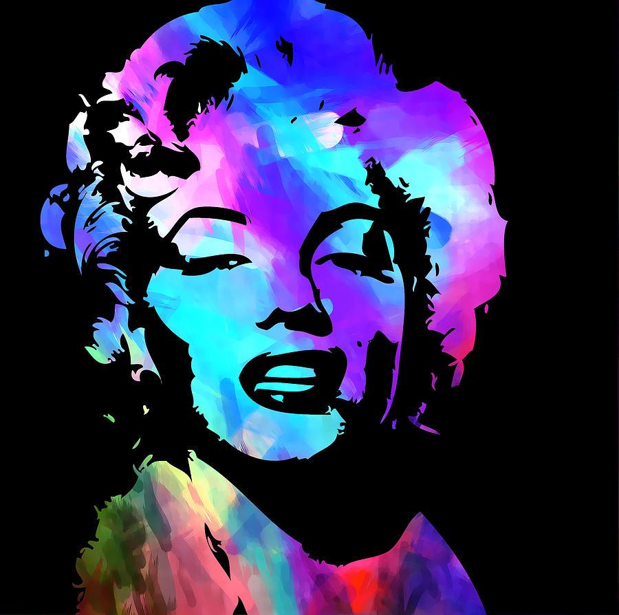 Marilyn Digital Art - Marilyn Art by Kenneth Feliciano