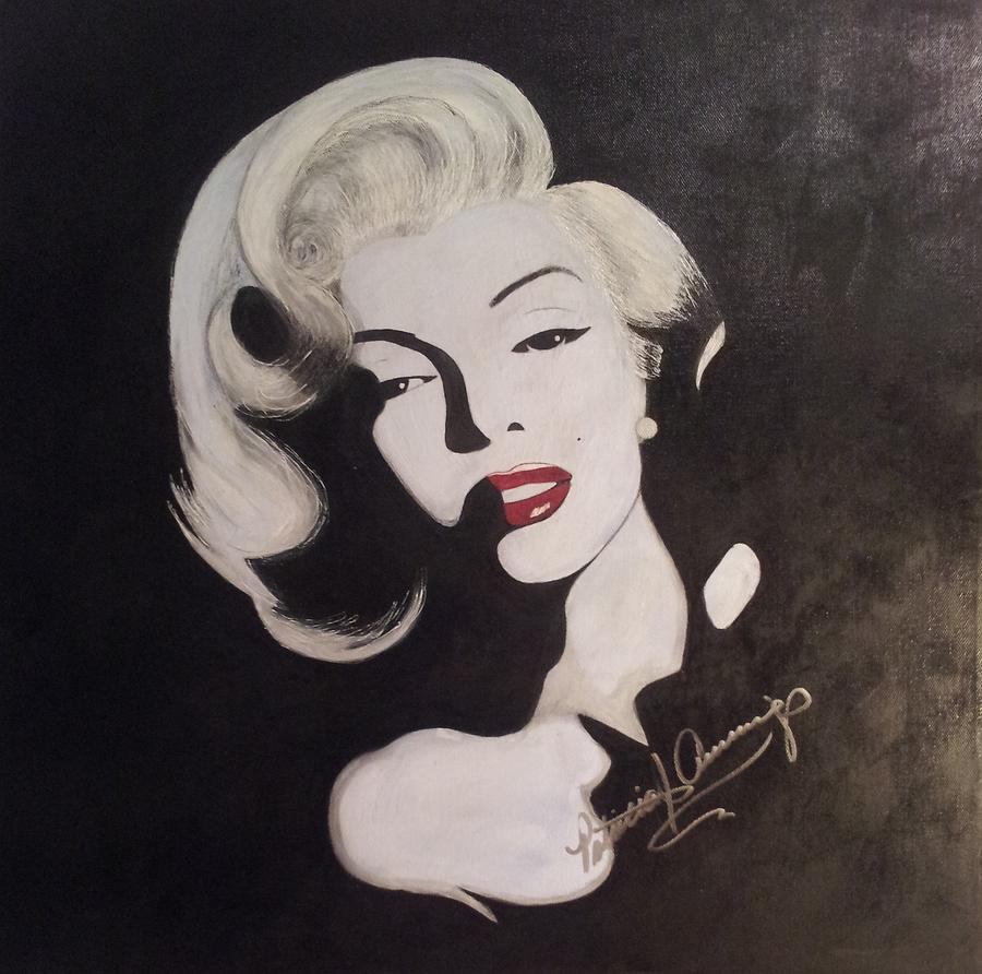 Marilyn In The Moonlight by Patricia Brewer-Cummings