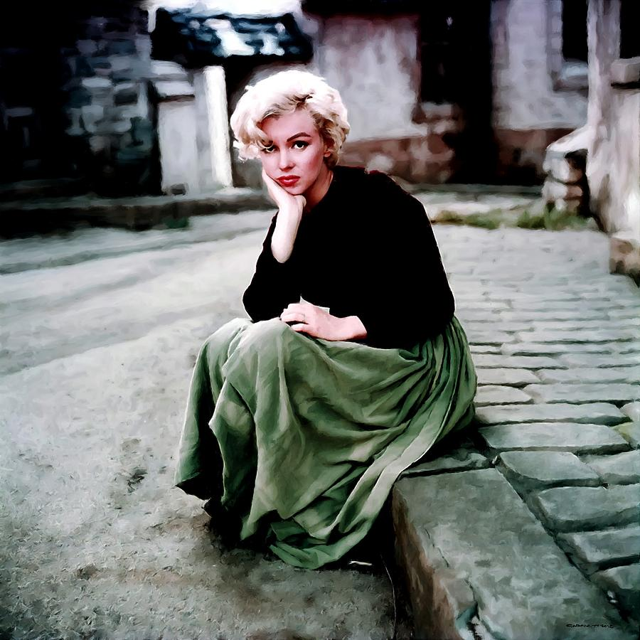 Actress Digital Art - Marilyn Monroe 2 by Gabriel T Toro