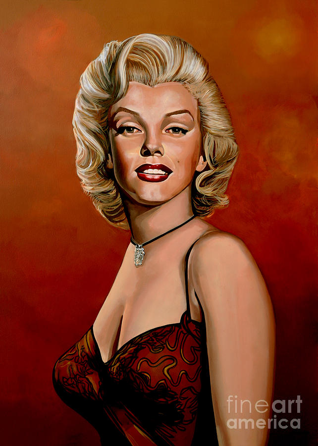 Marilyn Monroe Painting - Marilyn Monroe 6 by Paul Meijering
