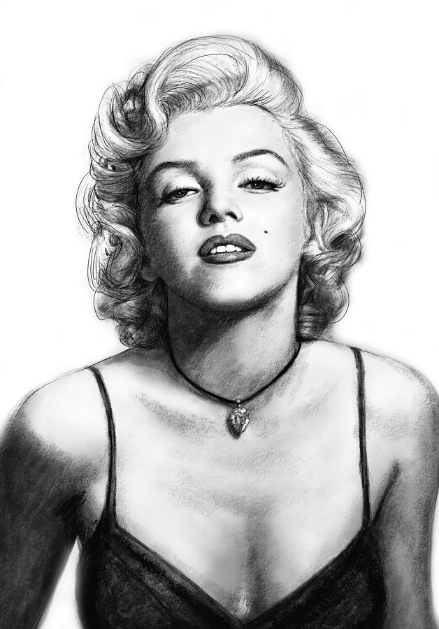 marilyn monroe art drawing sketch portrait painting by kim marilyn monroe silhouette clip art marilyn monroe clip art png