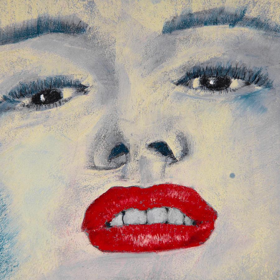 Marilyn Monroe Painting - Marilyn Monroe by David Patterson