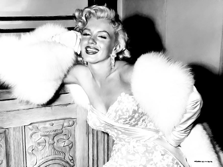 Actress Digital Art - Marilyn Monroe by Gabriel T Toro