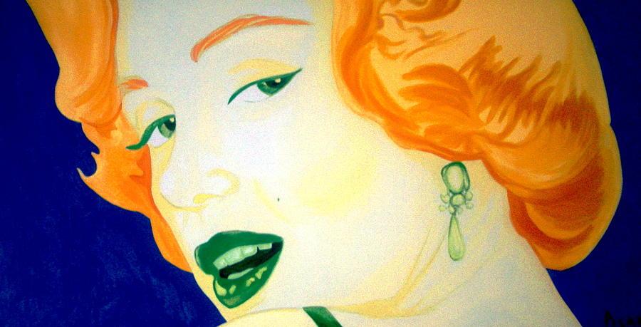 Marilyn Monroe Painting - Marilyn Monroe by Holly Picano