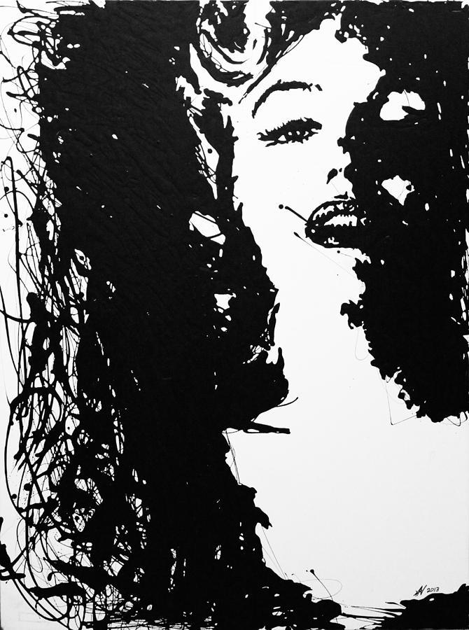 Marilyn Monroe Painting - Marilyn Monroe by Kris Night