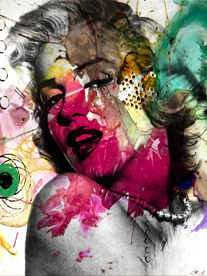 Pop Art Photograph - Marilyn Monroe by Mark Ashkenazi