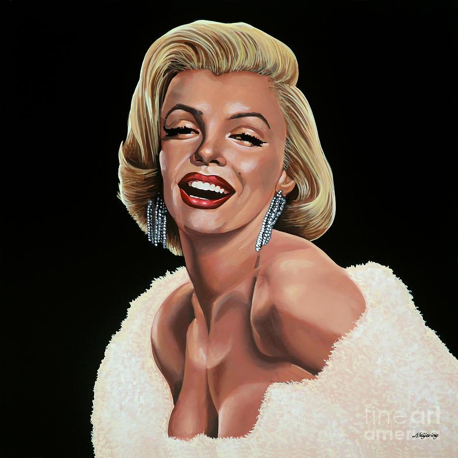 Marilyn Monroe Painting - Marilyn Monroe by Paul Meijering