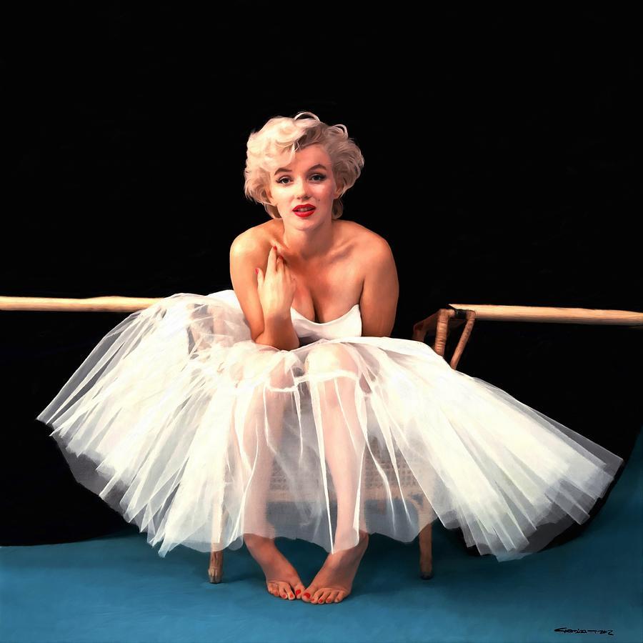 Marilyn Monroe Digital Art - Marilyn Monroe Portrait by Gabriel T Toro