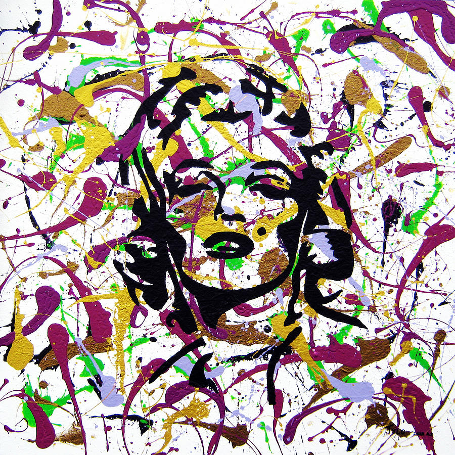 Marilyn Monroe Painting - Marilyn Not Quite Mike Bliss by Tylo Jacobs
