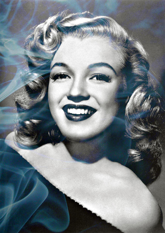 Beautiful Photograph - Marilyn On Fire by Jo Ann