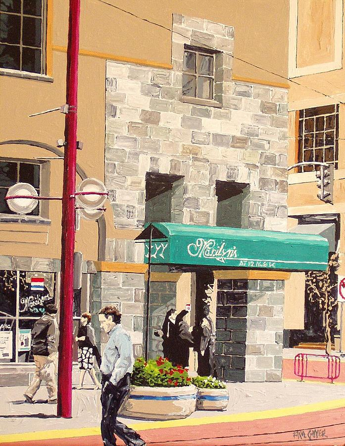 Sacramento Painting - Marilyns by Paul Guyer