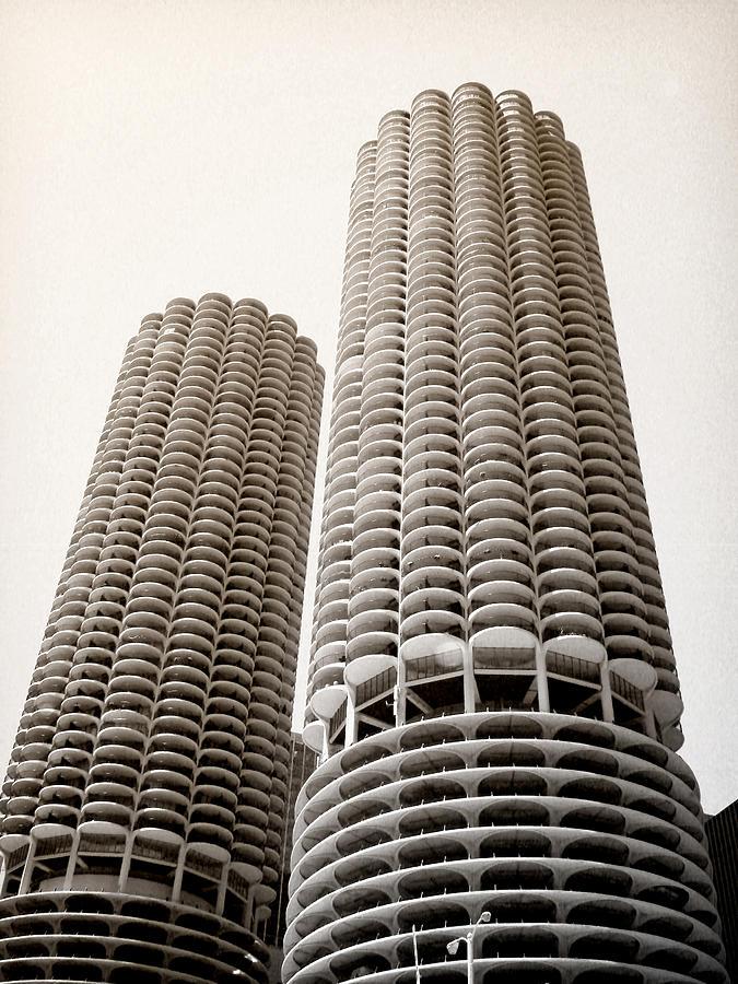 Marina City Photograph - Marina City Chicago by Julie Palencia