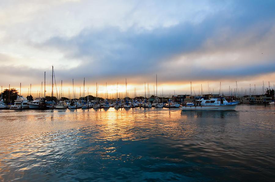 Marina Sunrise 1 Photograph