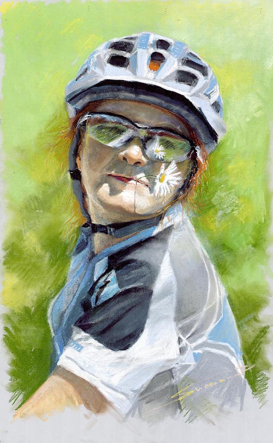 Portret Pastel - Marina by Yuriy Shevchuk