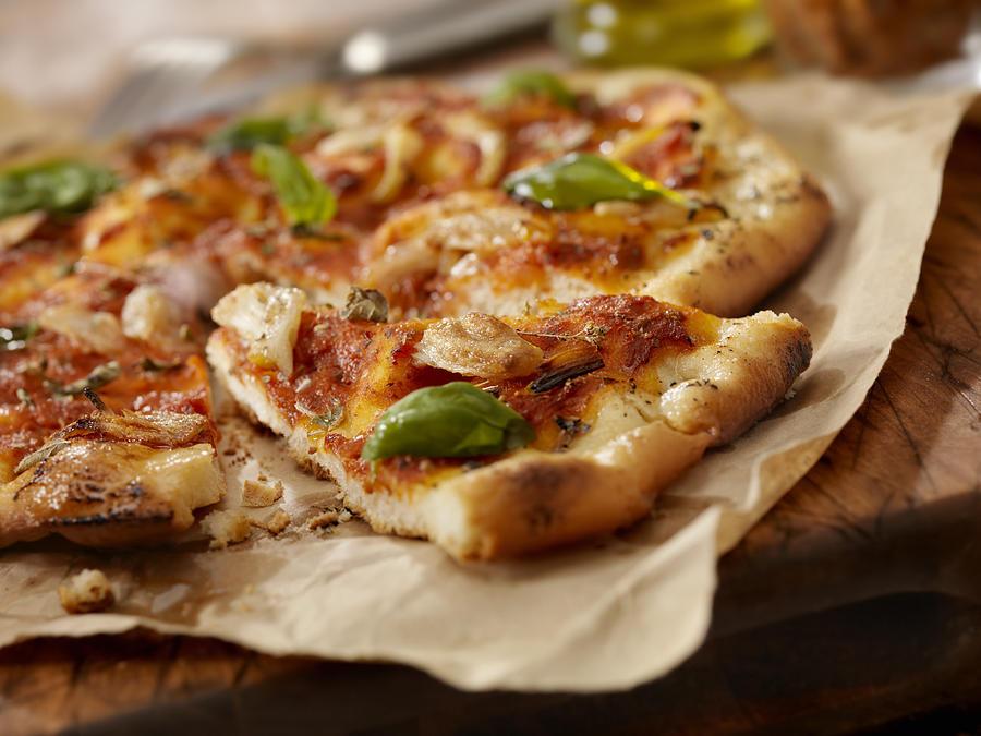 Marinara Pizza Photograph by LauriPatterson