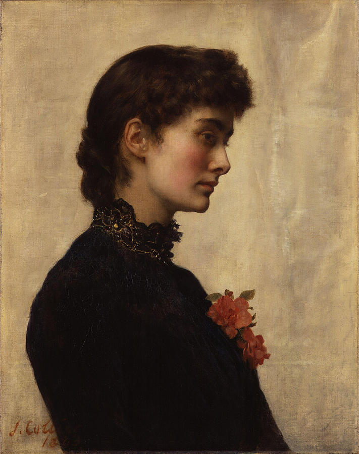 John Painting - Marion Collier by Philip Ralley