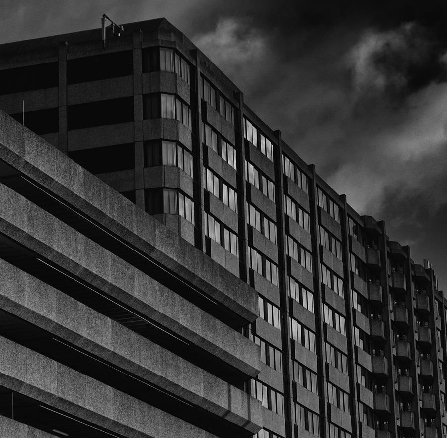Architecture Photograph - Mariott by Andrew Menzies