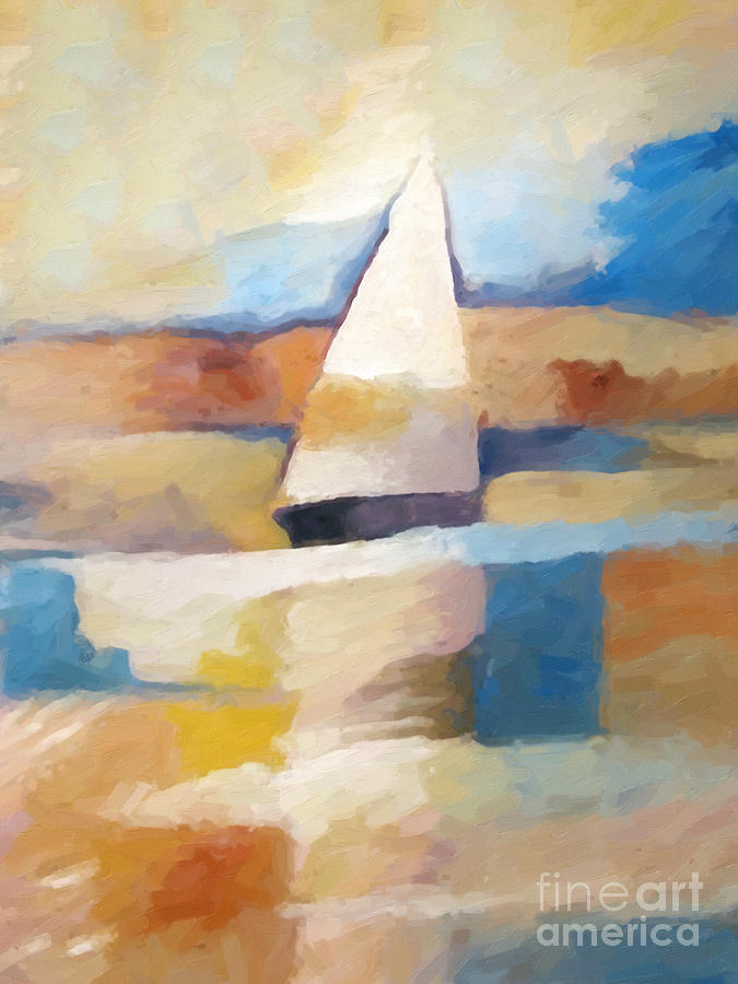 Maritime Painting - Maritime Impression by Lutz Baar