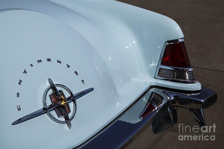 Lincoln Mercury Photograph - Mark II by Dennis Hedberg