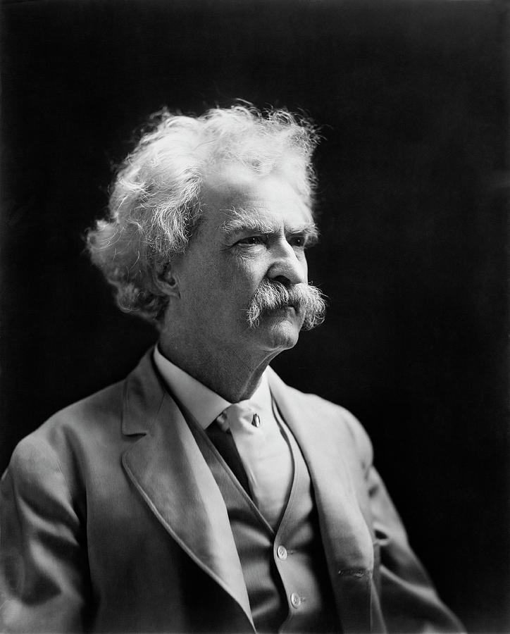 Mark Twain Photograph - Mark Twain by Library Of Congress
