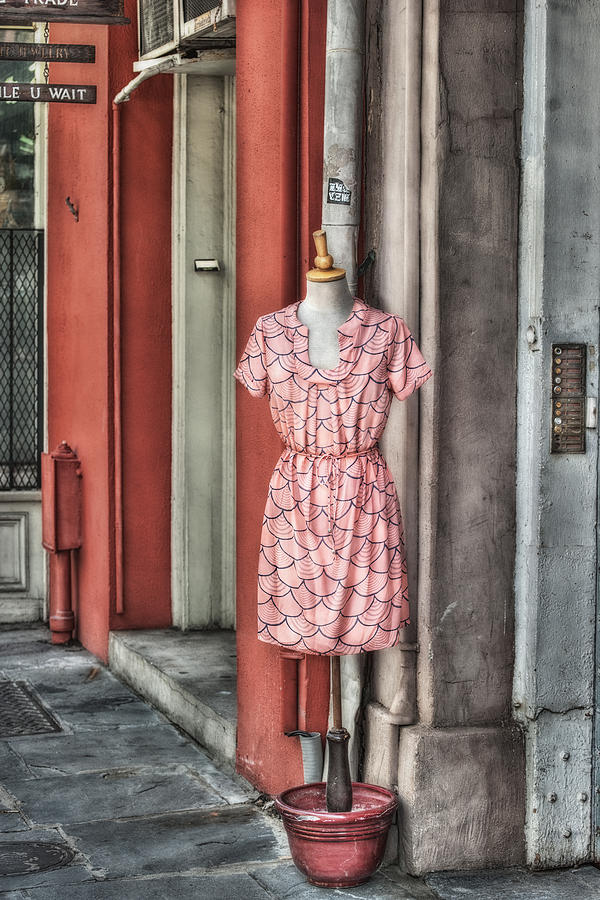 New Orleans Photograph - Market Fashion by Brenda Bryant