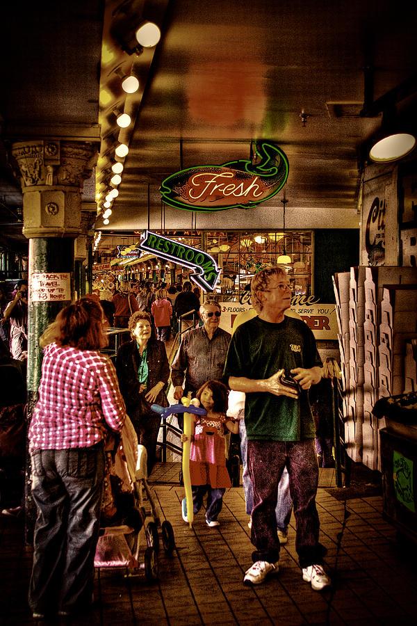 Pike Place Market Photograph - Market Fresh At Pike Place Market by David Patterson