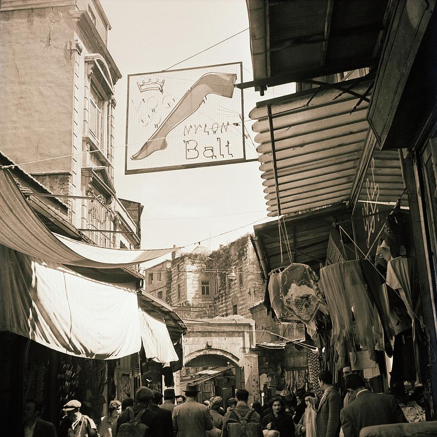 Market In Turkey Photograph by Horst P. Horst