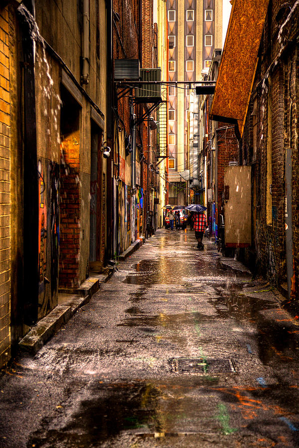 Tennessee Photograph - Market Square Alleyway - Knoxville Tennessee by David Patterson