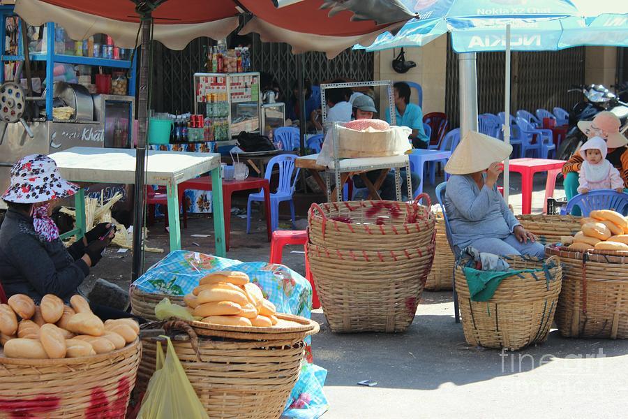 Market Photograph - Market Street Vietnam by Yury Bashkin