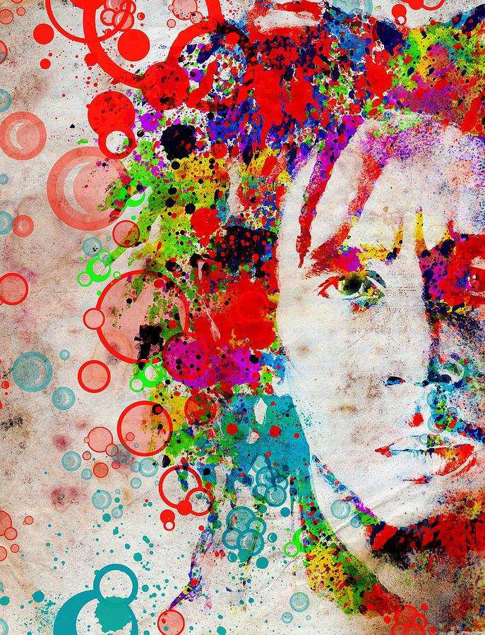 Bob Marley Painting - Marley 4 by Bekim Art