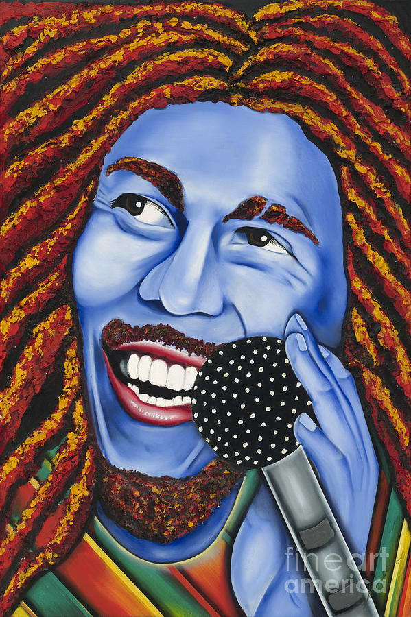 Portrait Painting - Marley by Nannette Harris