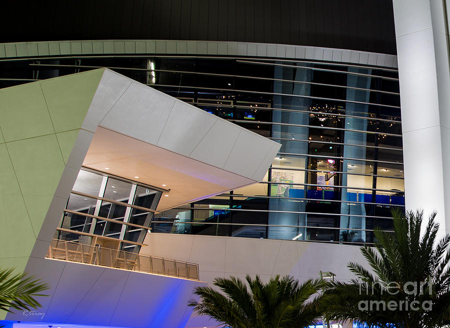 Miami Marlins Photograph - Marlins Park Stadium Miami 6 by Rene Triay Photography