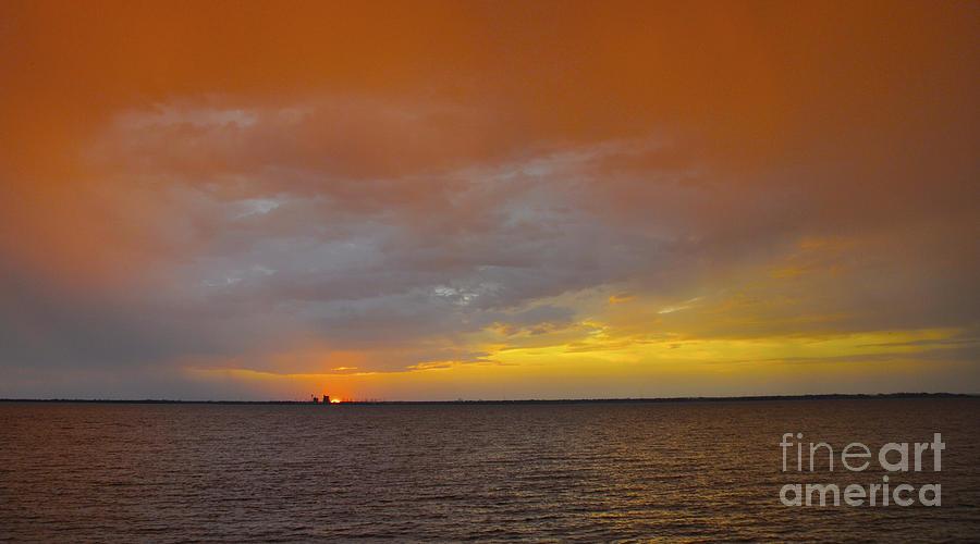 Lake Ray Hubbard Photograph - Marmalade and Lemonade by Cheryl McClure