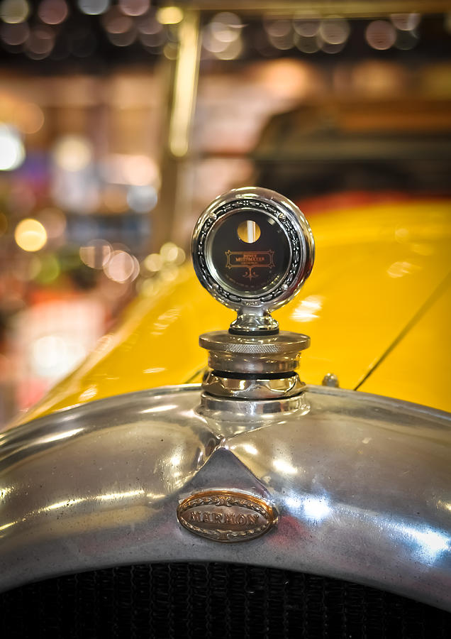 Car Photograph - Marmon In Yellow by Ronda Broatch