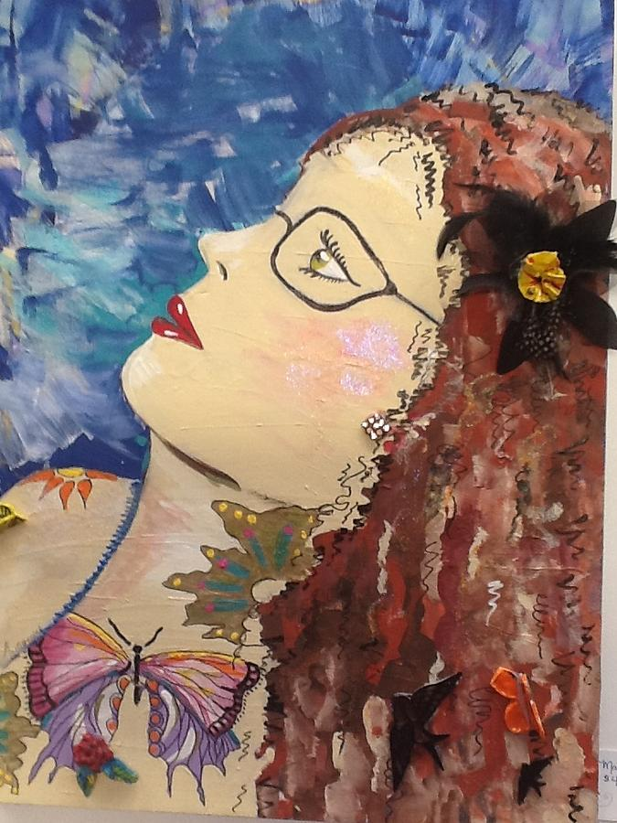 Friend Mixed Media - Marna by Karen Carnow