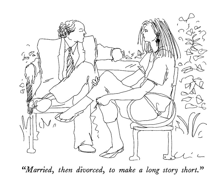 divorce in short stories 10 divorce stories too strange to make up by nothing can bring utter insanity to the lives of otherwise reasonable people like a nasty divorce.