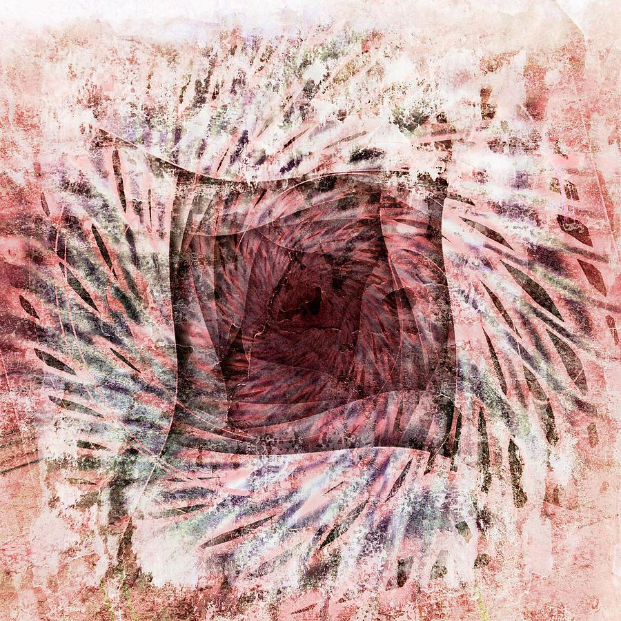 Abstract Digital Art - Mars Im Quadrat by Florin Birjoveanu