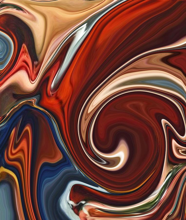 Mars Painting - Mars Meets Venus 1 by Chad Miller