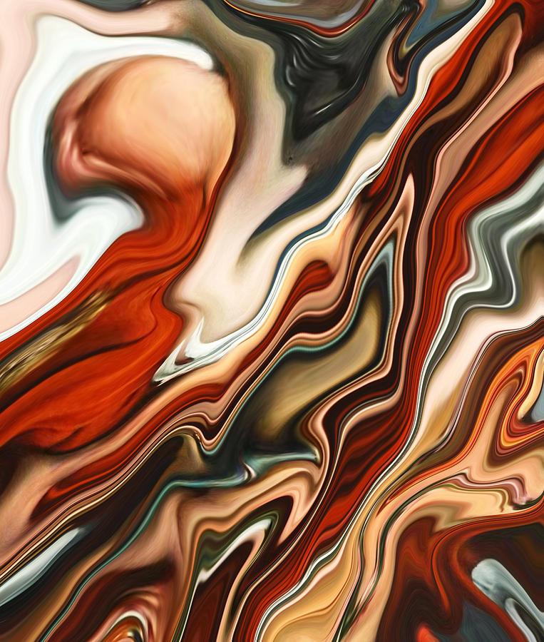 Mars Painting - Mars Meets Venus 2 by Chad Miller