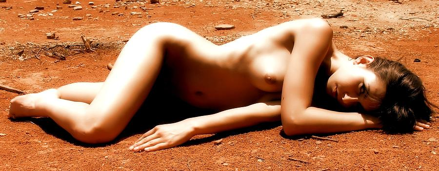Nude Photograph - Mars Needs Women by Charles Oscar