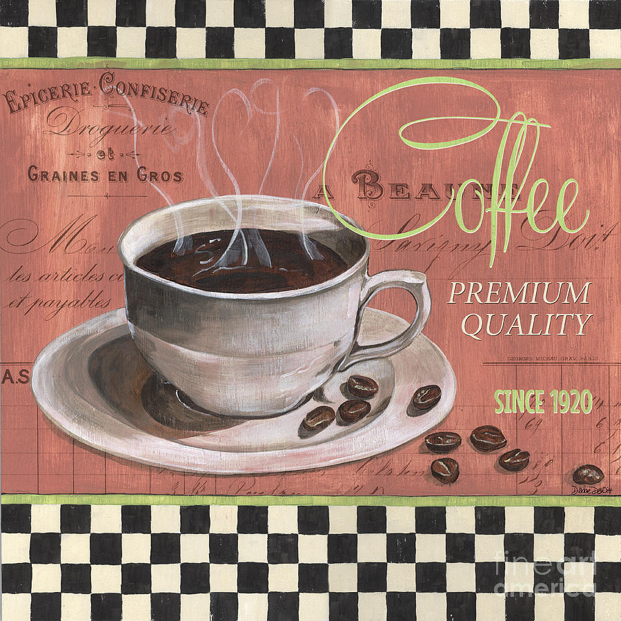 Marsala Coffee 1 Painting