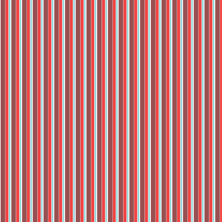 Marsala Stripe 2 Mixed Media