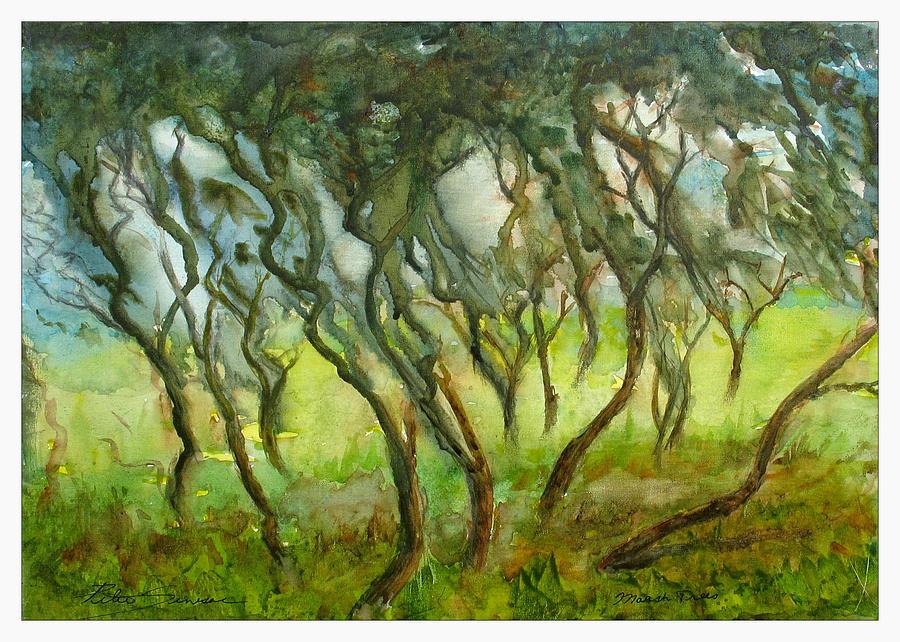 Marsh Trees by Peter Senesac