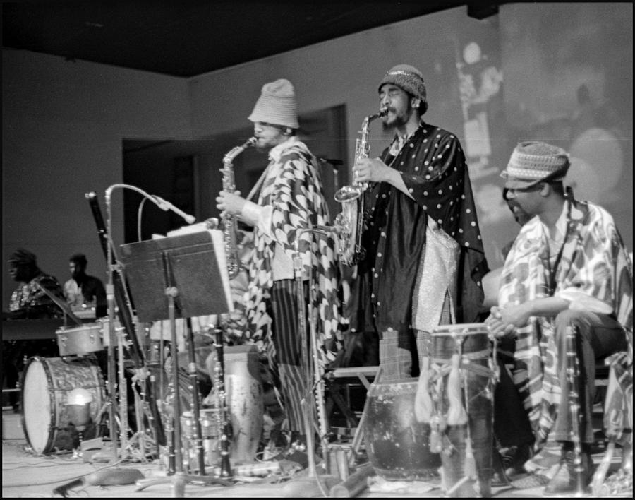 California Photograph - Marshall Allen And Danny Davis by Lee  Santa