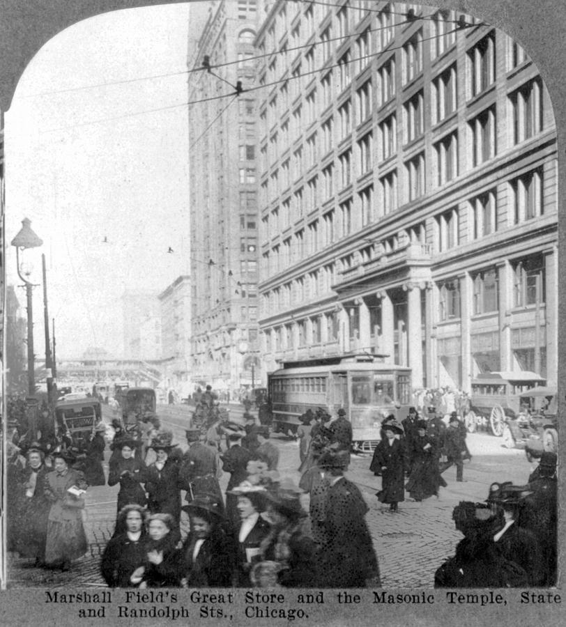 1900s Photograph - Marshall Fields Great Store by Everett