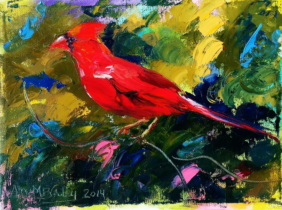 Marshall Cardinal by Ann Bailey
