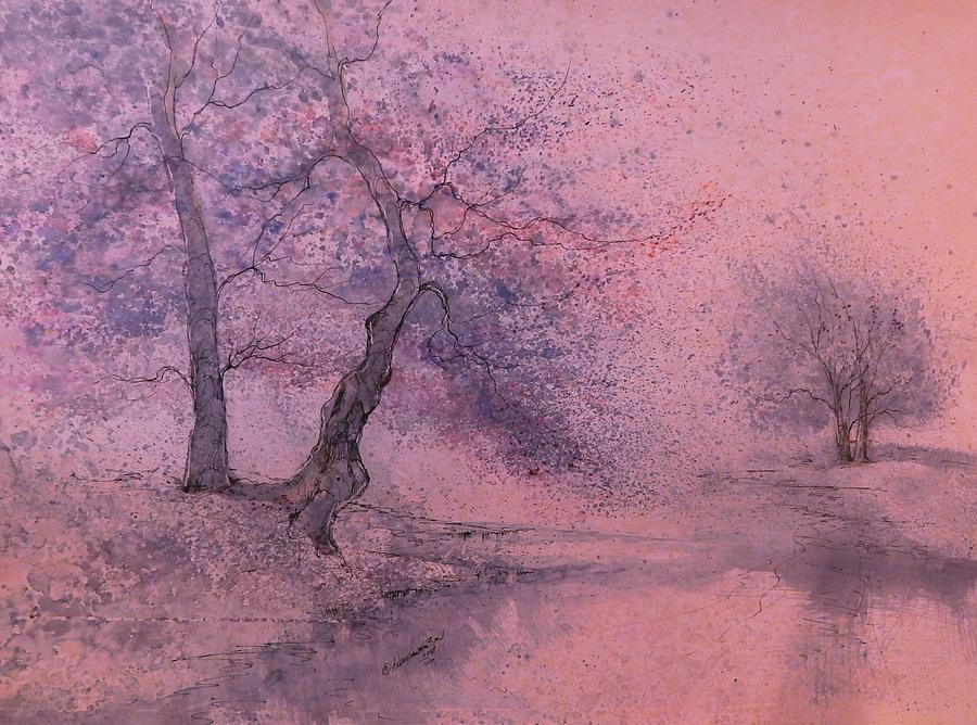 Beautiful Painting - Marshell Creek IIII by Anna Sandhu Ray