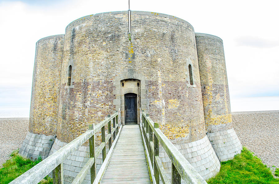 Martello Tower Aldeburgh Suffolk by Richard Jemmett