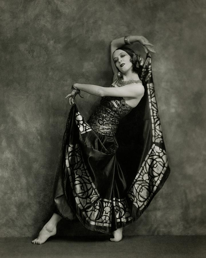 Martha Graham Dancing Photograph by Nickolas Muray